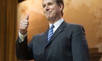 Trump is lucky Santorum isn't on his stage