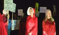 Mishandled handmaids; Protests need protecting