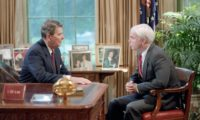 7/31/1986 President Reagan John McCain Photo Op. With Republican Senate Candidates in Oval Office