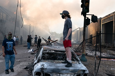 Editorial: Strongly against the riots