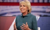 Betsy DeVos protects girls from unfair trans competition