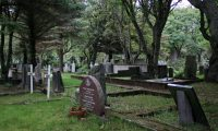 Kamala Harris makes pitch for votes from cemeteries