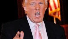 No handshake for loutish Trump