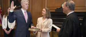 Justice Gorsuch shows clarity, eloquence